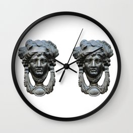 Nice pair of knockers Wall Clock