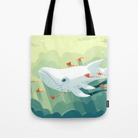 freeminds Tote Bags featuring Nightbringer 2 by Freeminds