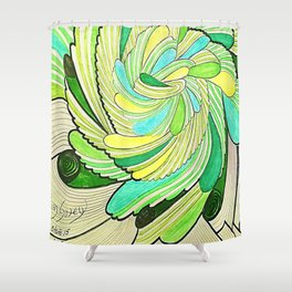 OTOÑO 15 Shower Curtain