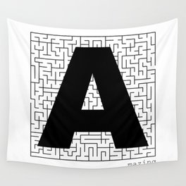A-Maze-ing Wall Tapestry