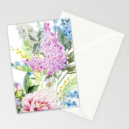 Vision in White Stationery Cards