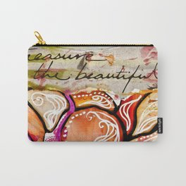 Treasure the Beautiful Carry-All Pouch