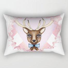 Pink Deer - Ciervo Rosa Rectangular Pillow