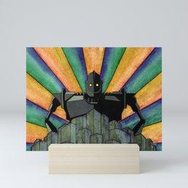 The Iron Giant Mini Art Print