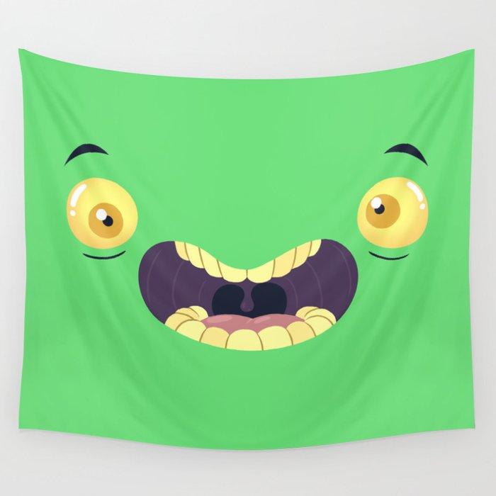 Monster Mugs - Cray Cray Wall Tapestry