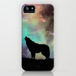 Galaxy wolf | Wolf | Powerful wolf | Wolf love | Wolfsbane | Lycan iPhone Case
