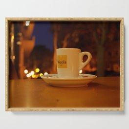 Night coffee - 10.30.2017 - Lisbon - Espresso - Bica Serving Tray