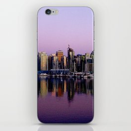 Stanley Park Skyline iPhone Skin