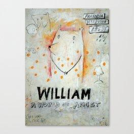 William Canvas Print