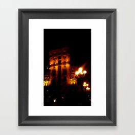 Night Crest 4 Framed Art Print