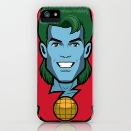 Back to the childhood - Captain Planet iPhone Case