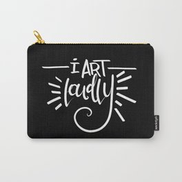I Art Loudly Carry-All Pouch