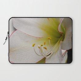 White Amaryllis Laptop Sleeve