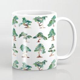 Bonsai Pattern Coffee Mug