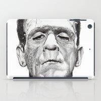 frankenstein iPad Cases featuring Frankenstein by calibos