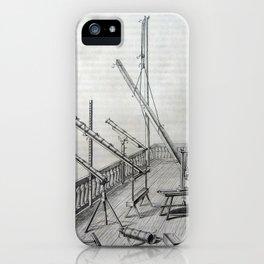 Johannes Hevelius - Celestial Devices, Part 1 - Plate 5 iPhone Case