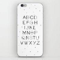 font iPhone & iPod Skins featuring Craft Font by neuprouns