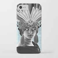 grace iPhone & iPod Cases featuring Grace by Thömas McMahon