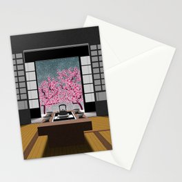 JAPANESE ROOM Stationery Cards
