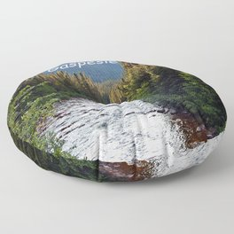 Fresh and Clean Nature Dream Floor Pillow