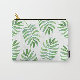 Tropical Palm Leaf Carry-All Pouch