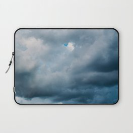 Rain Storm Clouds Gathering On Sky, Stormy Sky, Infinity Laptop Sleeve