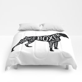 I Only Care About My Boxer.. Comforters