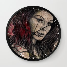 Sugar, Honey & Pepper: Tribute to Edwige Fenech Wall Clock