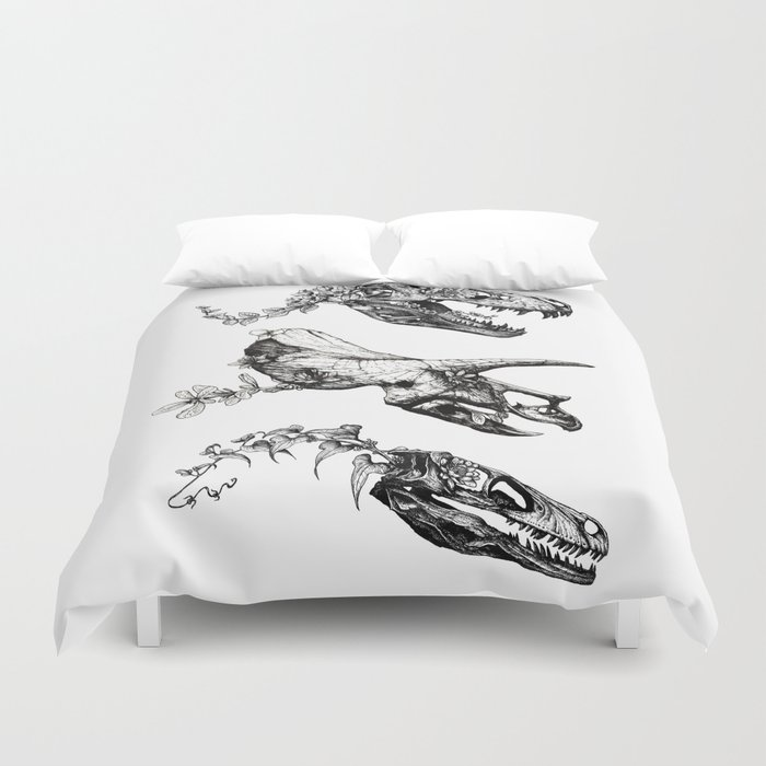 Jurassic Bloom. Bettbezug