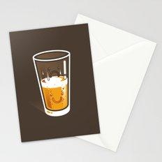 Pessimistic Optimist - alt version Stationery Cards
