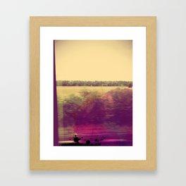 Intercity Framed Art Print