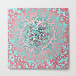 Loving Heart Abstract No. 4 Metal Print