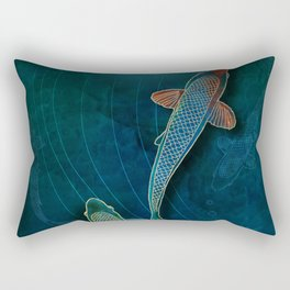 Koi II Rectangular Pillow