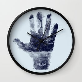 High five world Wall Clock