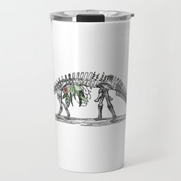 Brachio-foliage-asaurus Travel Mug
