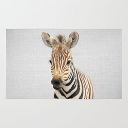 Baby Zebra - Colorful Rug