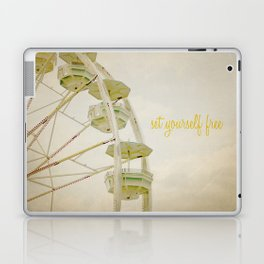Set Yourself Free Laptop & iPad Skin