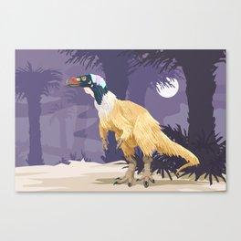 Herrerasaurus ischigualastensis Canvas Print