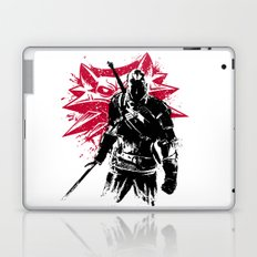 White wolf Laptop & iPad Skin