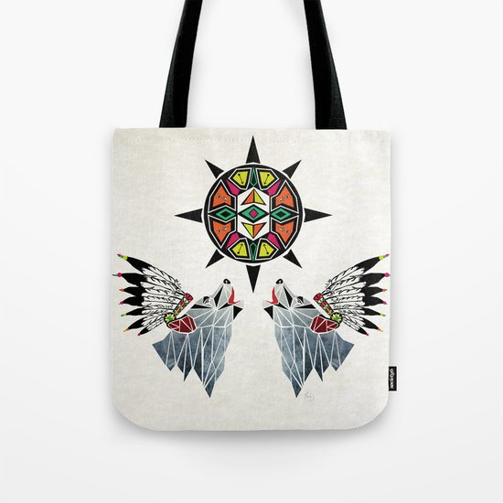 wolf king Tote Bag