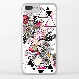 Triangle Nature Clear iPhone Case