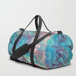 Fluid Abstract 20 Duffle Bag
