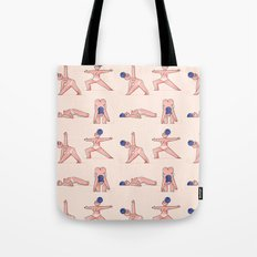 Almost Naked Sporty Chubbies Yoga Tote Bag