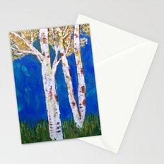 Golden Aspens Stationery Cards