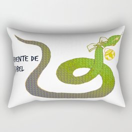 Serpiente de cascabel Rectangular Pillow