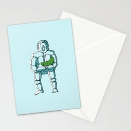 Ice Sasquatch and Pickle Baby Stationery Cards