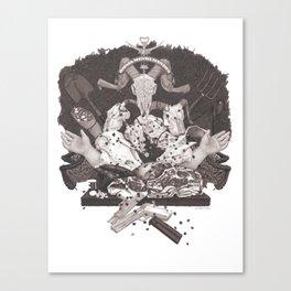 Omnia Munda Mundis Canvas Print