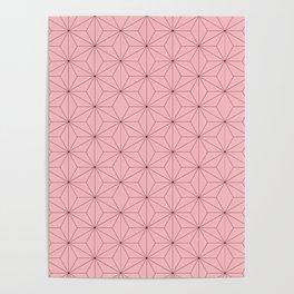 Nezuko Pattern Poster
