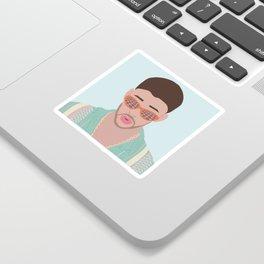 The Face of Reggaeton Sticker