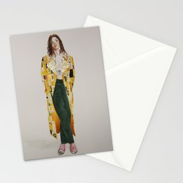 Harry Styles à la Klimt Stationery Cards